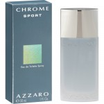 CHROME SPORT By Azzaro For Men - 3.4 EDT SPRAY