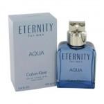 ETERNITY AQUA  By Calvin Klein For Men - 3.4 EDT SPRAY
