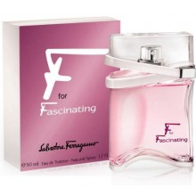 F FOR FASINATING  By Salvatore Ferragamo For Women - 3.4 EDP SPRAY