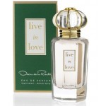 LIVE ON LOVE  By Oscar De La Renta For Women - 3.4 EDP SPRAY