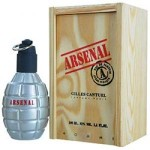 ARSENAL GREY By Gilles Cantuel For Men - 3.4 EDT Spray