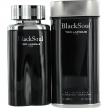 BLACK SOUL  By Ted Lapidus For Men - 3.4 EDT SPRAY