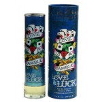 LOVE LUCK By Christian Audigier For Men - 3.4 EDT SPRAY TESTER
