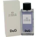 D & G # 10 LA ROUSE  By Dolce Gabana For Women - 3.4 EDT SPRAY